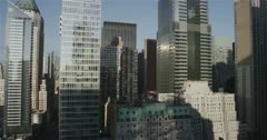 Skyscrapers in Downtown New York City 5K day timelapse :05 Stock Footage