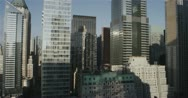 Stock Video Footage of Skyscrapers in Downtown New York City 5K day timelapse :05