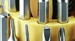 Screwdriver tools. Stock Footage