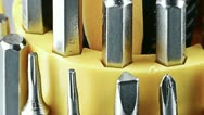 Screwdriver tools. Stock Footage