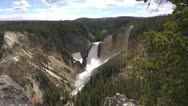 Stock Video Footage of Yellowstone Lower Falls 8 by dwking