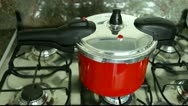 Stock Video Footage of Pressure cooker