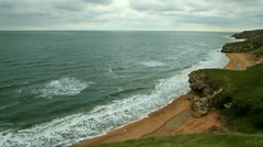 landscape generals beaches. - stock footage