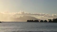 Moorea Island - stock footage