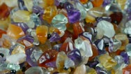 Gorgeous gemstones jewelry. Stock Footage