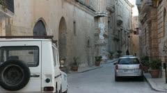 Streets of Malta Stock Footage
