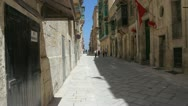 Stock Video Footage of Streets of Malta