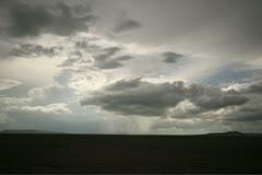 Serengeti storm Stock Footage