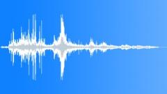 Thunder far falling wall Sound Effect