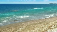 Waves on the sea. Set of 3 videos in one. HD 1080. Stock Footage