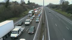 Traffic Jam 02 Stock Footage