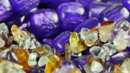 Stock Video Footage of gorgeous gemstones jewelry.