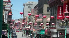 Stock Video Footage of Chinatown San Francisco