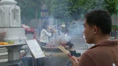 Bangkok streetscapes Stock Footage