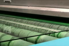 Laminated Glass Production Stock Footage