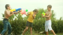 Summer fighters Stock Footage