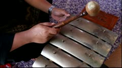 Gamelan music Stock Footage