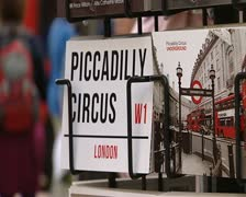 London giftcards - stock footage
