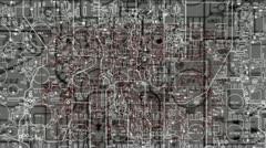 LoopNeo VJ Loops HD 1920X1080 - Circuits - 19 Stock Footage
