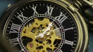 Pocketwatch Timelapse (HD) Stock Footage
