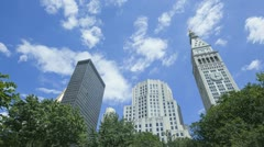 Timelapse Madison Square Park Stock Footage