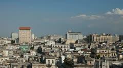 Havana skyline cuba Stock Footage