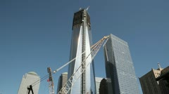 One World Trade Center - stock footage