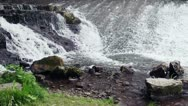 Small Waterfall Closeup Stock Footage
