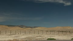 Possible Alien Sighting Area 51 Desert Landscapes Stock Footage
