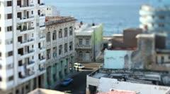 Street scene havana cuba Stock Footage