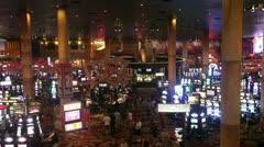 Casino panorama Las Vegas Stock Footage