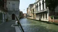 Small Venetian canal Stock Footage