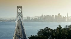 USA, San Francisco, bridge T/L Stock Footage