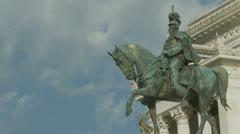 Vittorio Emanuele Monument, Rome,4 Stock Footage