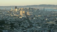 Stock Video Footage of USA, San Fran bridge T/L