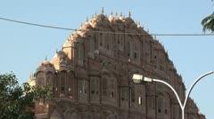 Hawa Mahal-Jaipur Stock Footage