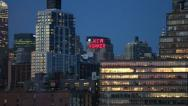 Stock Video Footage of Manhattan Skyline