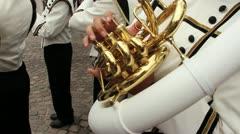 Tuba_02 - stock footage