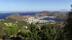 Patmos Stock Footage