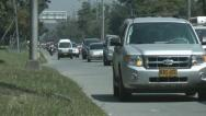Traffic - Cars, Taxis, Buses Stock Footage