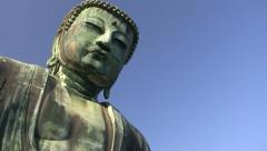 Great Buddha of Kamakura Stock Footage