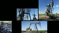 Stock Video Footage of Oil Pump Jack