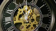 Pocketwatch Timelapse Zoom Out (HD) Stock Footage