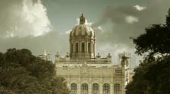 The revolution museum havana cuba Stock Footage