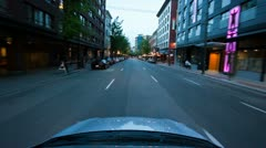 Time lapse through the streets of vancouver bc including lions gate bridge Stock Footage