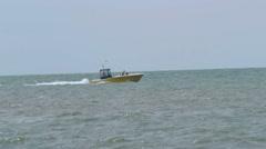 Parasailing - Boat and Parasail Stock Footage