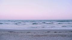 Ocean Waves - Beach - Lower half Stock Footage