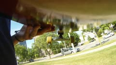 Skateboard 2 - stock footage