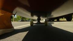Skateboard 1 Stock Footage