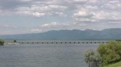 Polson Bridge 001 by dwking Stock Footage